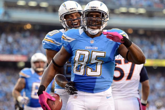 Week 10 Fantasy Football: Top 25 Tight Ends in Standard-Scoring Leagues