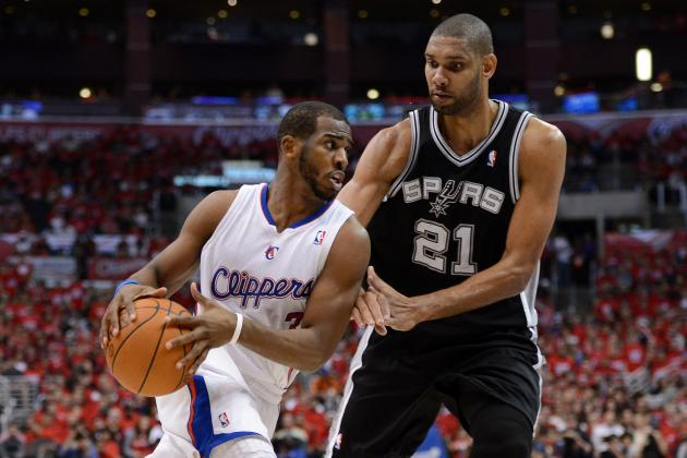 San Antonio Spurs vs. Los Angeles Clippers: Live Score and Game Highlights