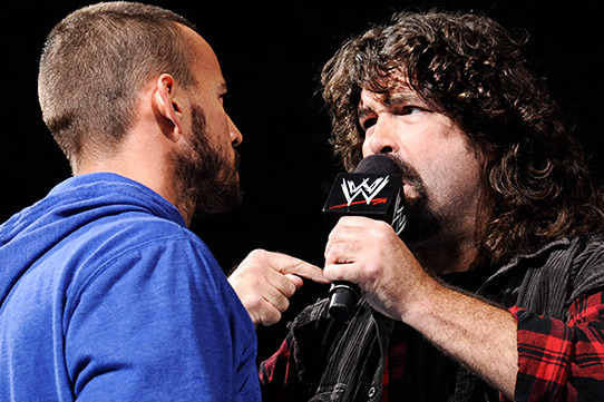 Will CM Punk Eventually Face Mick Foley in the Ring?