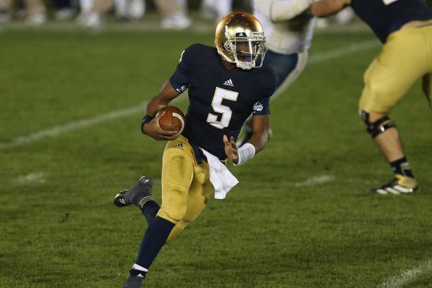 Notre Dame vs Boston College: Latest Spread Info, BCS Impact and Predictions