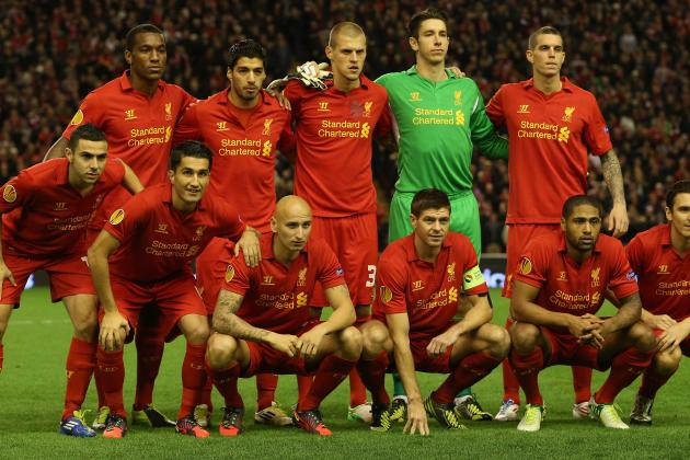 Anzhi Makhachkala vs. Liverpool: Shorthanded Reds Will Fall Short in EL Match
