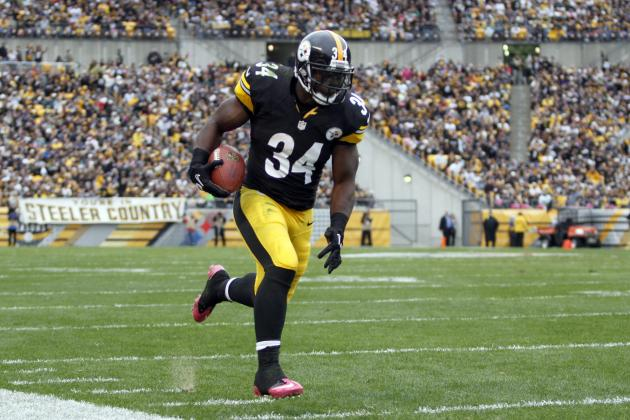 Steelers' Mendenhall Will Start When He Returns