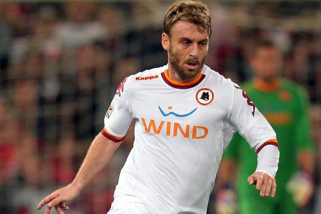 Man City Manager Roberto Mancini Wants to Sign Daniele De Rossi