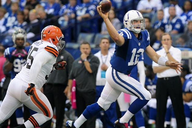AFC South All-22 Review: Andrew Luck Is Devastating When Throwing on the Run