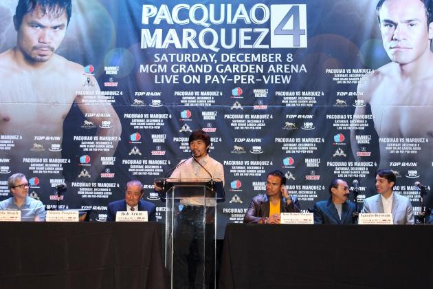 Manny Pacquiao: Pac-Man Must Overcome Marquez to Set Superfight vs. Mayweather