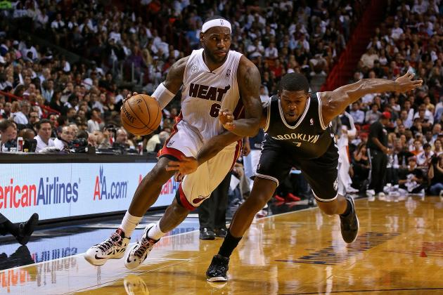 Miami Heat's LeBron James Wins NBA Player of the Night After Dismantling Nets