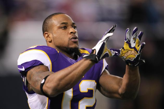 Percy Harvin: Fantasy Owners Should Have Backup Plan in Place for Vikings WR
