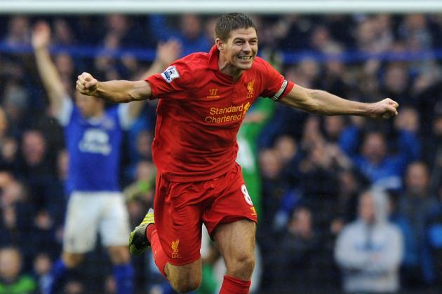 Liverpool's Steven Gerrard Ponders Jose Mourinho Link-Up