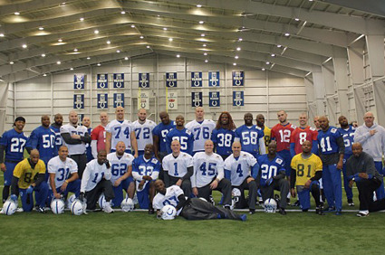 Andrew Luck and Colt Players' Shaved Heads Shows Ideal Team Unity