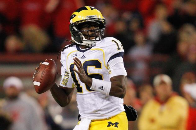 Wolverines' Brady Hoke: I Don't Know Who Will Play QB on Saturday