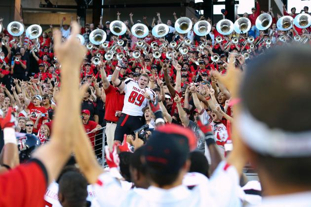 About 6,300 Tickets Remain for Texas Tech-Kansas Game Saturday