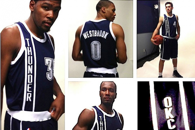 Thunder to Debut Alternate Unis