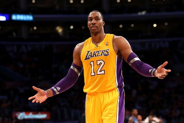 LA Lakers' Pathetic Perimeter Defense Too Much for Dwight Howard to Solve