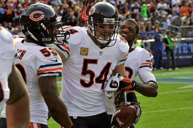 Urlacher: Bears Will 'Have Hands Full' vs. Texans' Offense