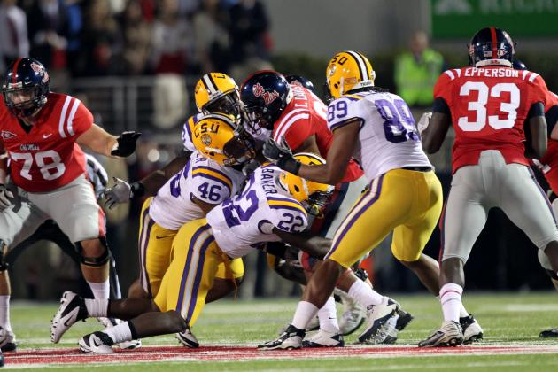 Ole Miss-LSU Game to Kick off at 2:30 P.m.