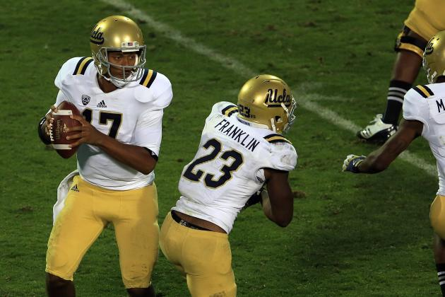 UCLA's Brett Hundley, Johnathan Franklin Are a Formidable 1-2 Punch