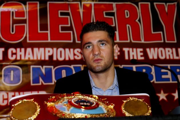 Nathan Cleverly vs. Shawn Hawk: Fight Time, Date, Live Stream, TV Info and More