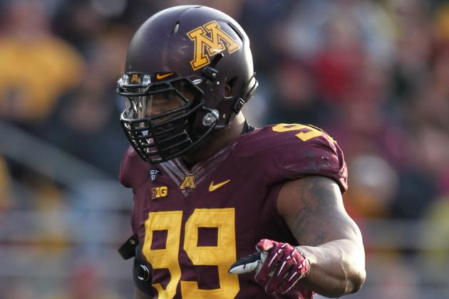 Gophers' Ra'Shede Hageman Says an Early Exit to the NFL Is Worth Considering