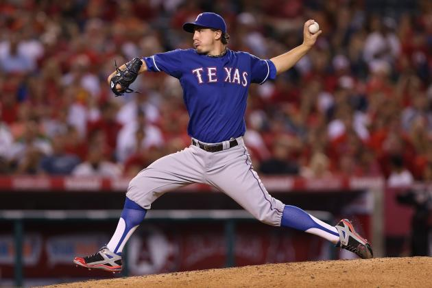 Derek Holland Seeks, Gets Nolan Ryan's Advice