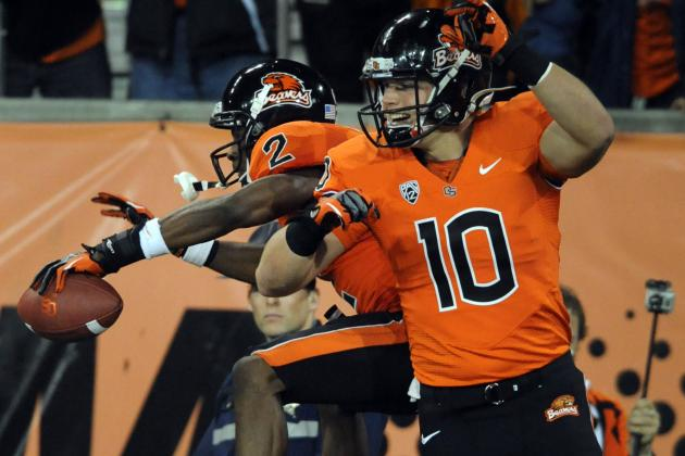 Wheaton and Cooks Make Case for Being Best Receiving Duo in Pac-12