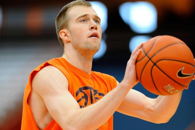 Cooney's Comeback: How the SU Sharpshooter Is Making Up for Lost Time