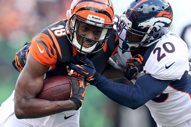A.J. Green Thinks Giants Defense Has a Lot of Holes