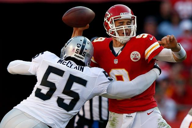 Teammates Alerted Staff That Brady Quinn 'Wasn't Right' and Other AFC West News