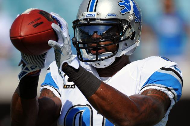 Calvin Johnson Sustained Nerve Damage in Week 4