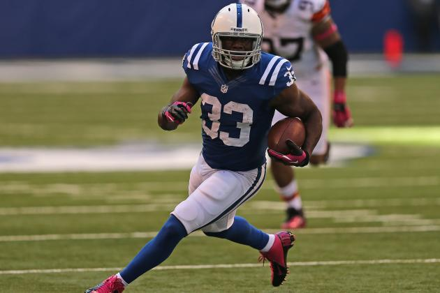 Colts vs. Jaguars: Indianapolis Running Game Will Be Difference-Maker