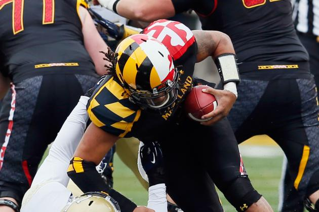 Terps OC Mike Locksley on Shawn Petty: 'I think he'll continue to get better'