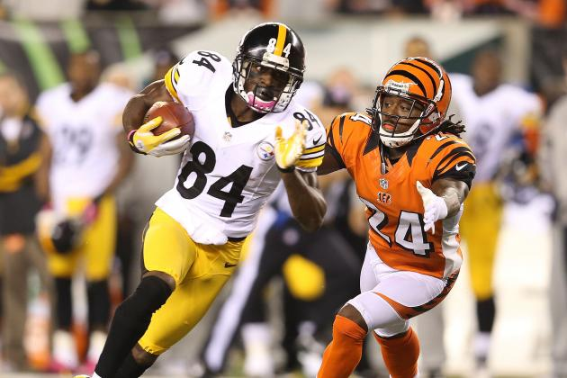 Antonio Brown: Temporary Fantasy Replacements for Injured Steelers WR