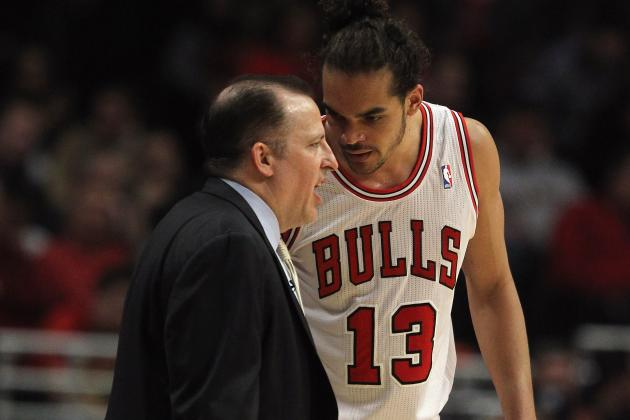 Bulls' Joakim Noah Infuriates Head Coach and Magic Players with Big Mac Shot