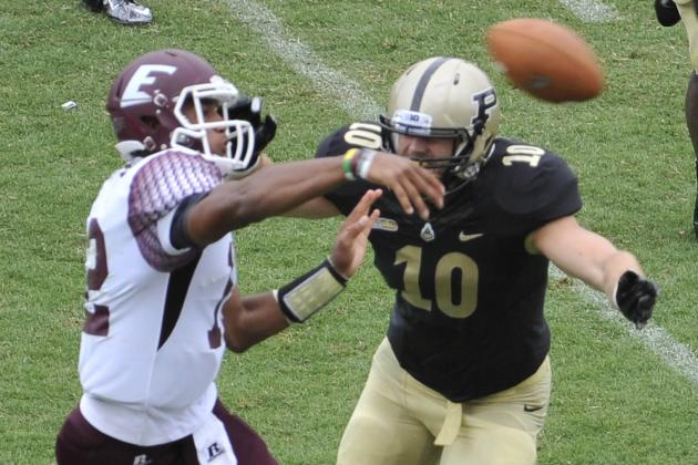 Purdue's Robinson Finding a Home at Linebacker