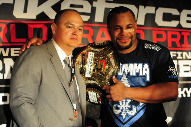 Strikeforce Announces Cormier, Melendez, Marquardt, Rockhold for January Card