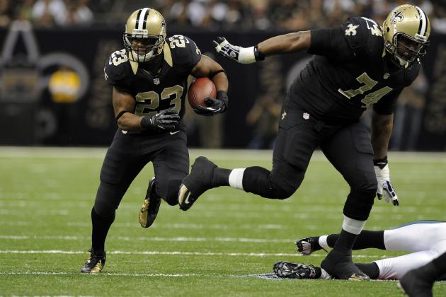 Darren Sproles Injury: Pierre Thomas Best Fantasy Option with RB's Status Shaky
