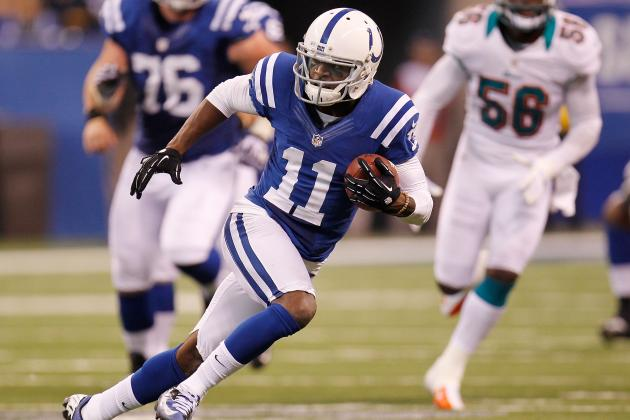Donnie Avery: Colts' WR Is Solid Fantasy Start vs. Jaguars
