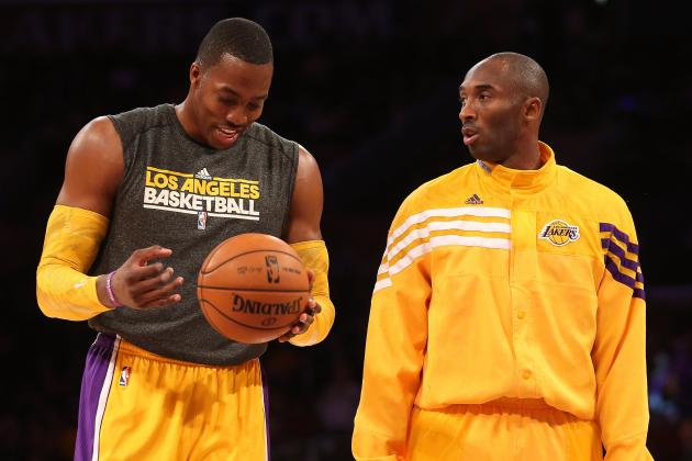 Dwight Howard's Telling Kobe to Chill First Sign of Trouble for Lakers' Stars