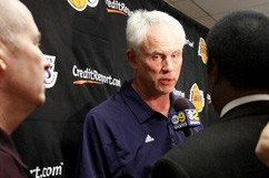 Lakers General Manager Mitch Kupchak Not Sounding Any Alarms