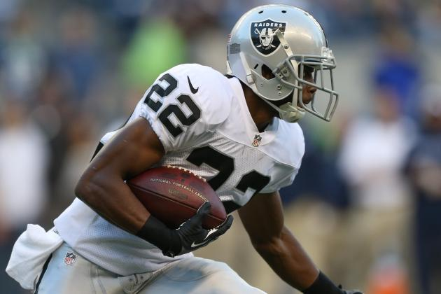 Taiwan Jones Ready to Carry Load for Oakland Raiders