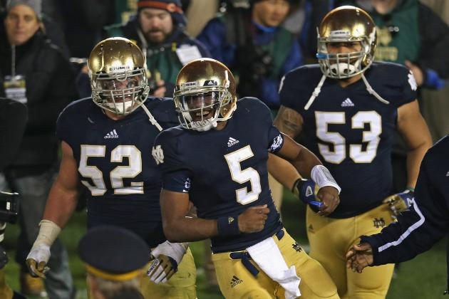 Notre Dame Football: Irish Must Dominate Boston College to Rise in BCS Standings
