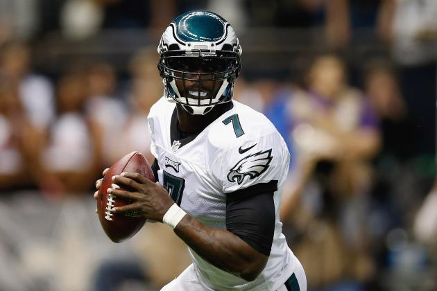 Starting Michael Vick over Nick Foles Right Move with Eagles Protection Issues