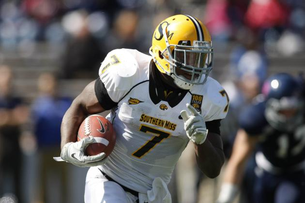 Leading Rusher One of Two Southern Miss Players Suspended