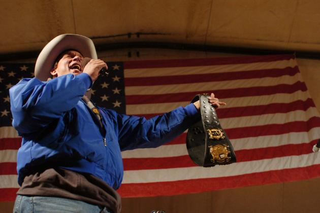 Former WWE Champion JBL vs. Blue Meanie, History of Pro Wrestling Shoots, Part 3