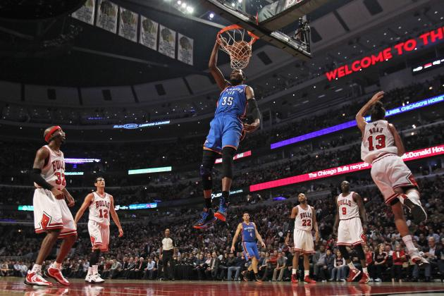 Oklahoma City Thunder vs. Chicago Bulls: Live Score, Results and Game Highlights