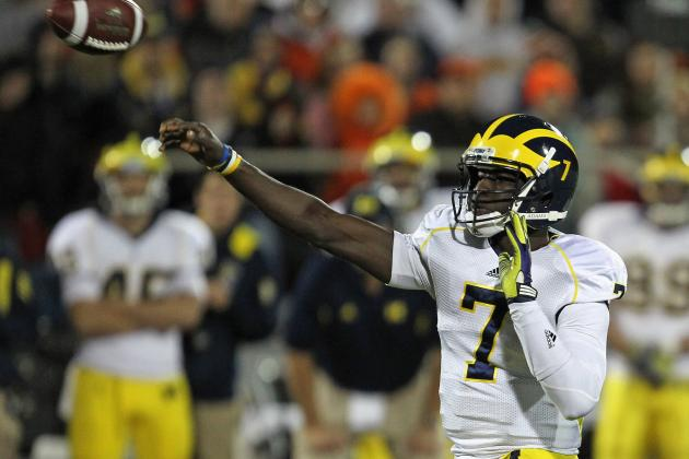 Michigan Football: Wolverines Must Keep Devin Gardner at QB