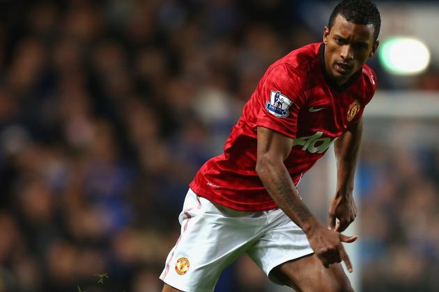 Manchester United's Nani Sidelined by Hamstring Problem