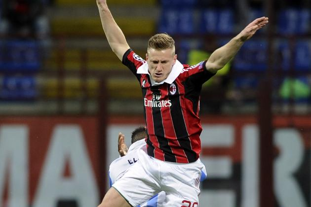 Milan's Ignazio Abate Ruled out by Thigh Strain