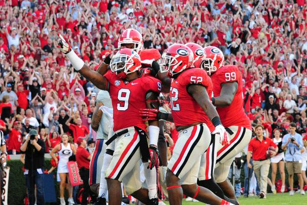 Georgia vs. Auburn: Bulldogs Must Keep Pressure on Tigers to Avoid Upset