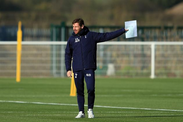Tottenham Hotspur Boss Villas-Boas Must Not Be Afraid to Try Different Tactics