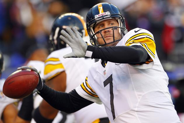 Steelers' Offense Searching for Long Ball